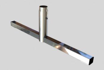База «T»-обр., для трубы L=780mm H=250 mm
