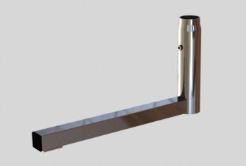 База «L»-обр., для трубы L=480mm H=250 mm