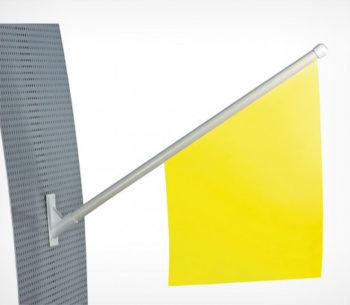 Флагшток пластиковый для наружного применения