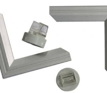 Алюминиевый держатель вывески на магнитах