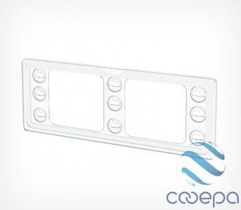 Пластиковая рамка серии ТЕХНО МИНИ формата 1/4 А4